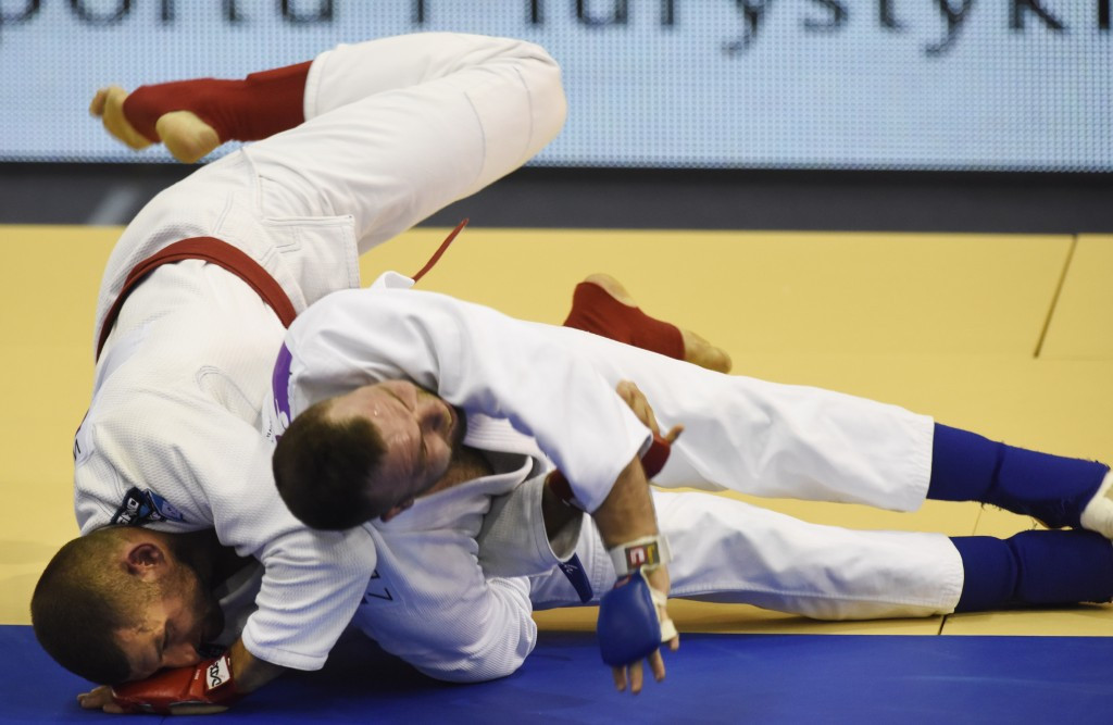 Ten gold medals were awarded in total in jiu-jitsu today ©IWGA