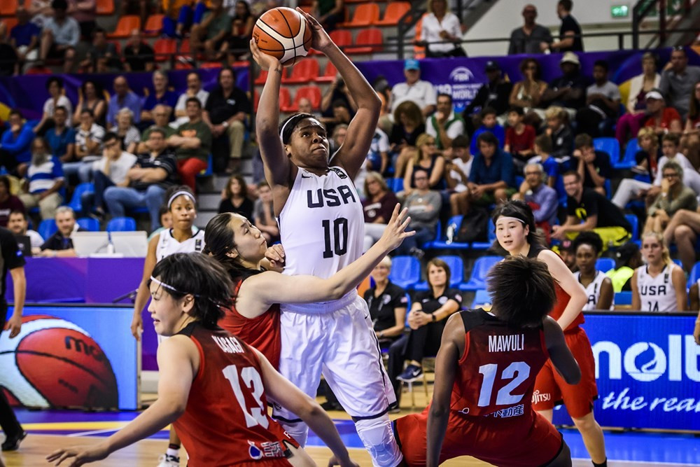 United States and Russia reach FIBA Women's Under-19 World Cup final