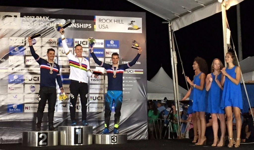 Corben Sharrah triumphed in the men's elite event ©UCI