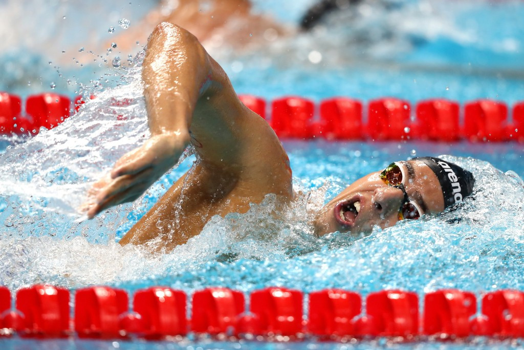 Naidich withdraws from FINA World Championships after positive drugs test