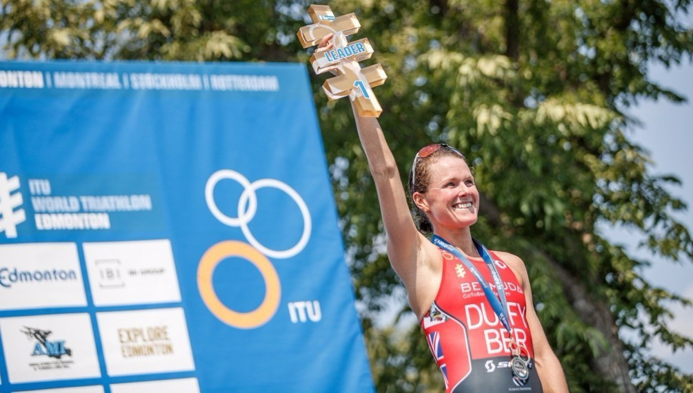 Duffy storms to fourth consecutive win at World Triathlon Series event in Edmonton
