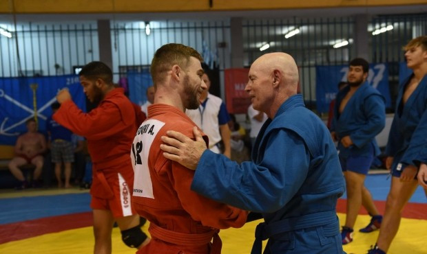 Sambo exhibition events took place during the Maccabiah Games ©FIAS