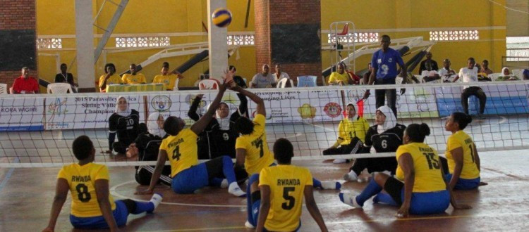Hosts Rwanda move into pole position at ParaVolley Africa Sitting Volleyball Championships