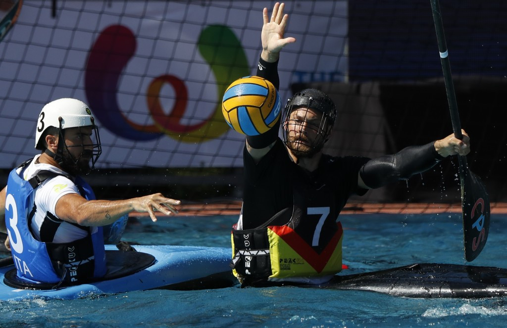 Germany won both the men's and women's canoe polo titles ©IWGA
