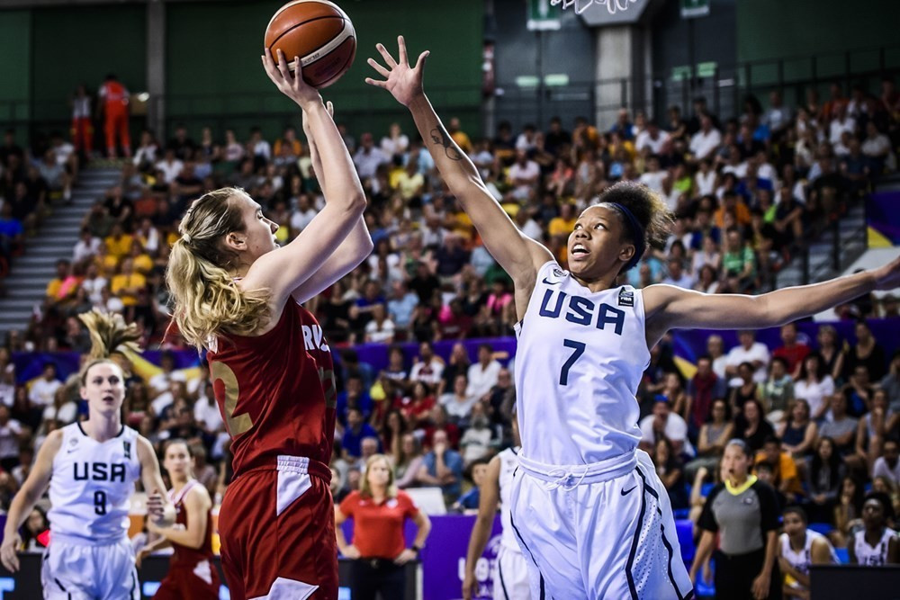 Russia end United States domination of FIBA Women's Under-19 World Cup