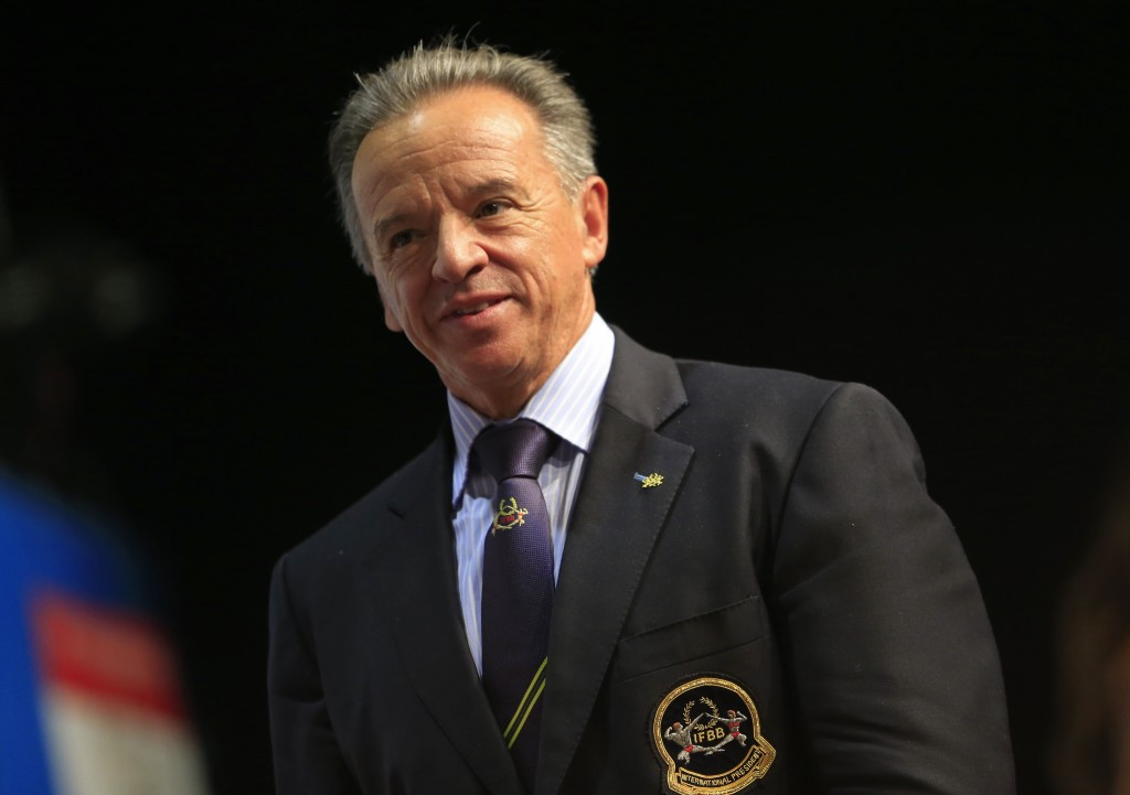 Dr. Rafael Santonja has been President of the IFBB since 2006 ©Getty Images