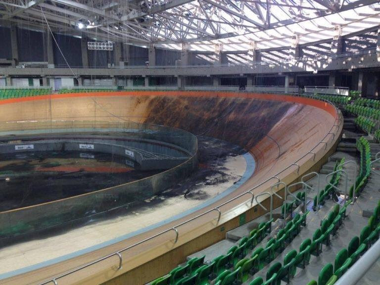 Legal proceedings opened after Rio 2016 velodrome fire