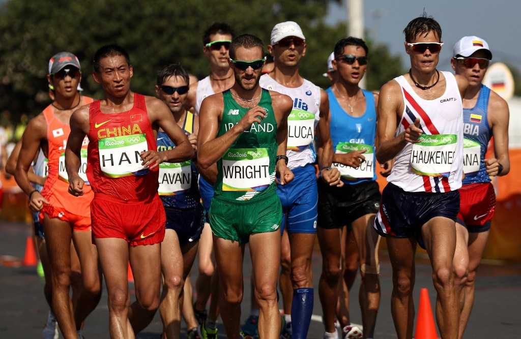 An IAAF decision to add a women's 50km walk to the programme for this year's World Championships in London helps towards their goal of achieving gender parity with the men who were already able to compete in the event ©Getty Images