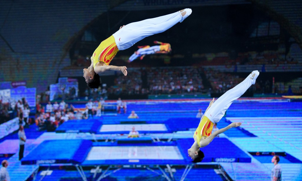 Flagship trampolining events have been awarded to Saint Petersburg and Tokyo ©Getty Images