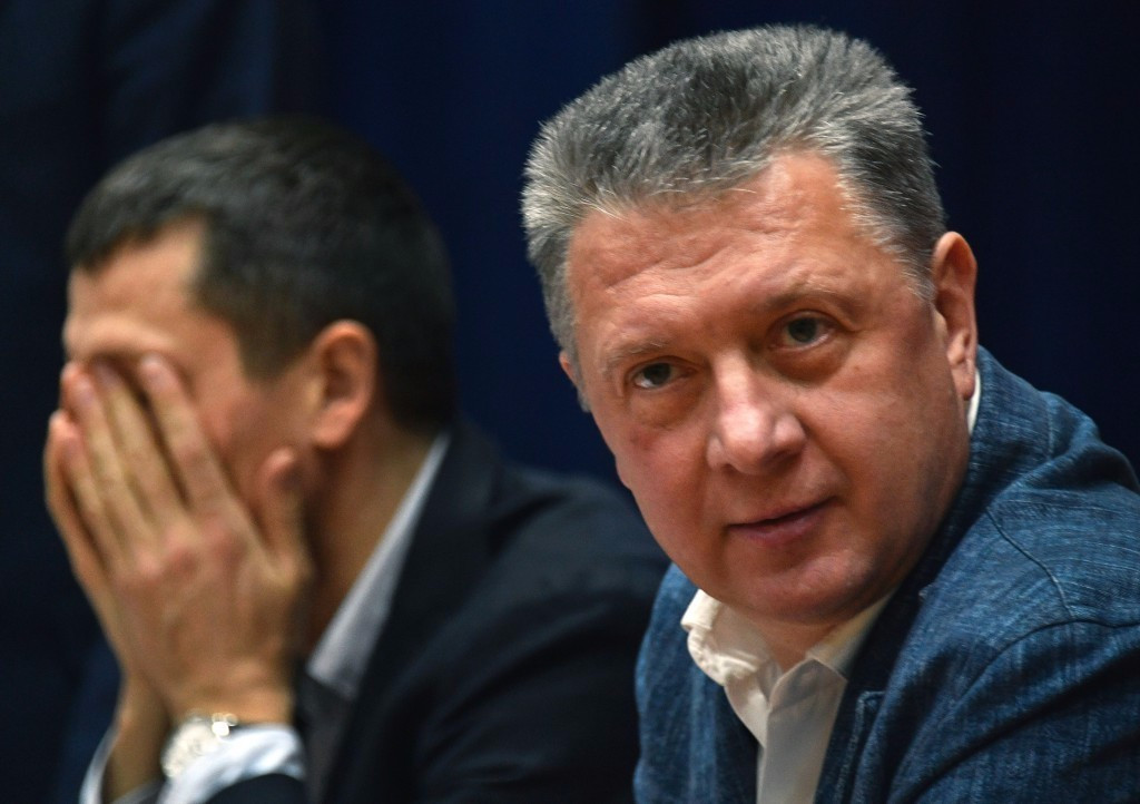 Russian Athletics Federation President Dmitry Shlyakhtin will appeal to the IAAF Congress for the ban on his country to be lifted ©Getty Images