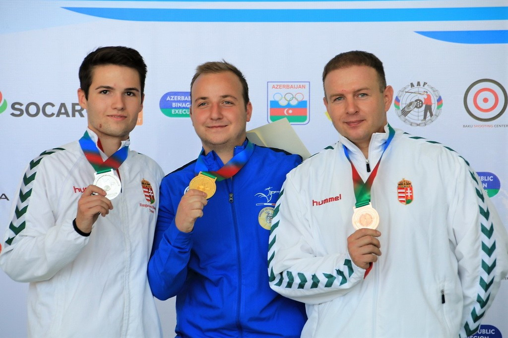 Olympic medallist Raynaud claims title at European Shooting Championships