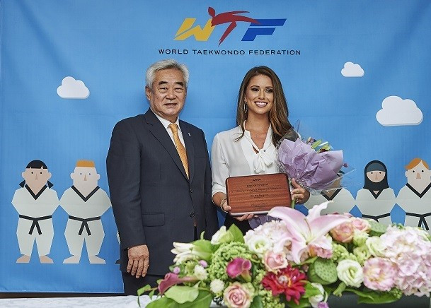 Former Miss USA appointed goodwill ambassador by World Taekwondo Federation