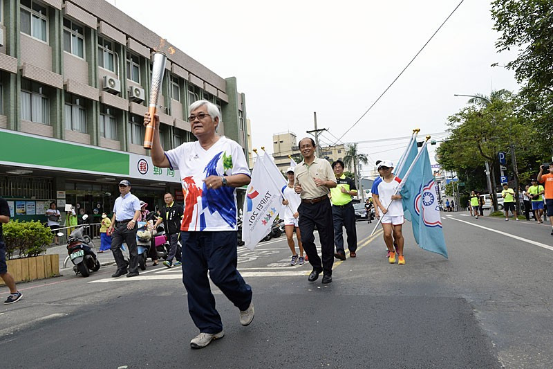 V section of Taipei 2017 Torch Relay begins