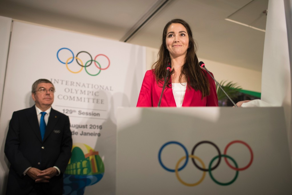 Sarah Walker was confirmed as an IOC Athletes Commission member in 2016 ©Getty Images