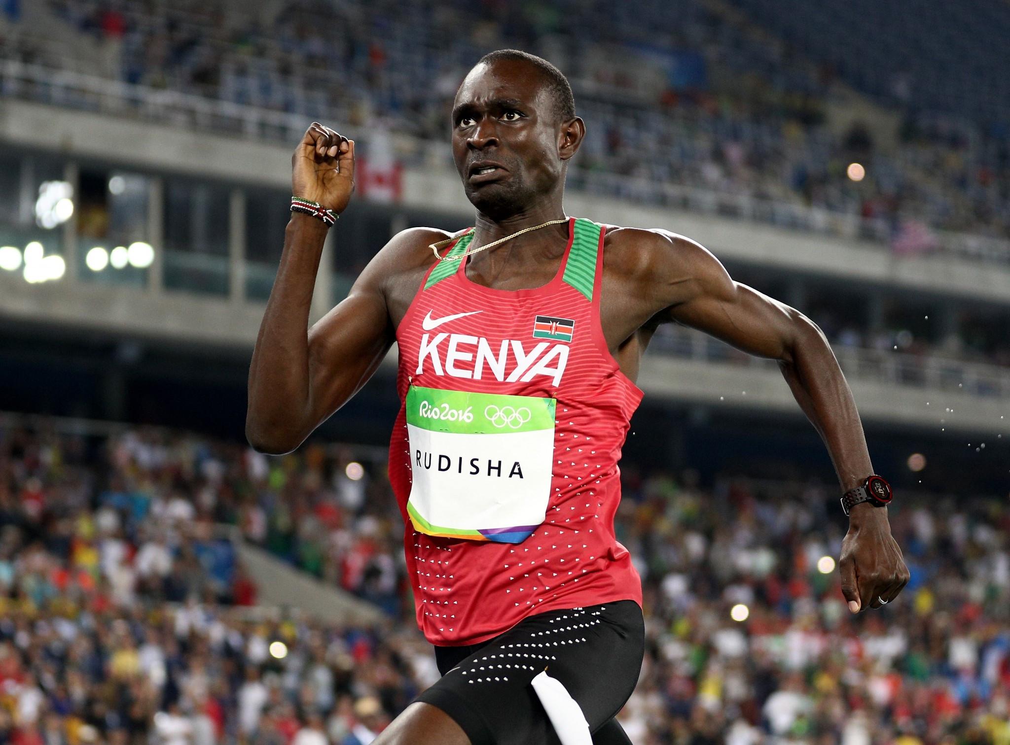 Rudisha joins Braz on the IAAF World Championships sidelines