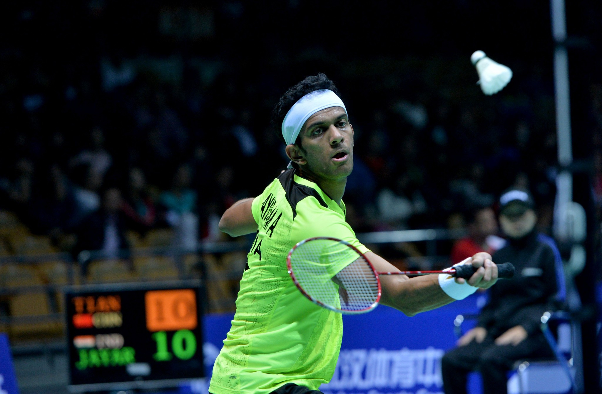 Second seed Jayaram crashes out of BWF New Zealand Open