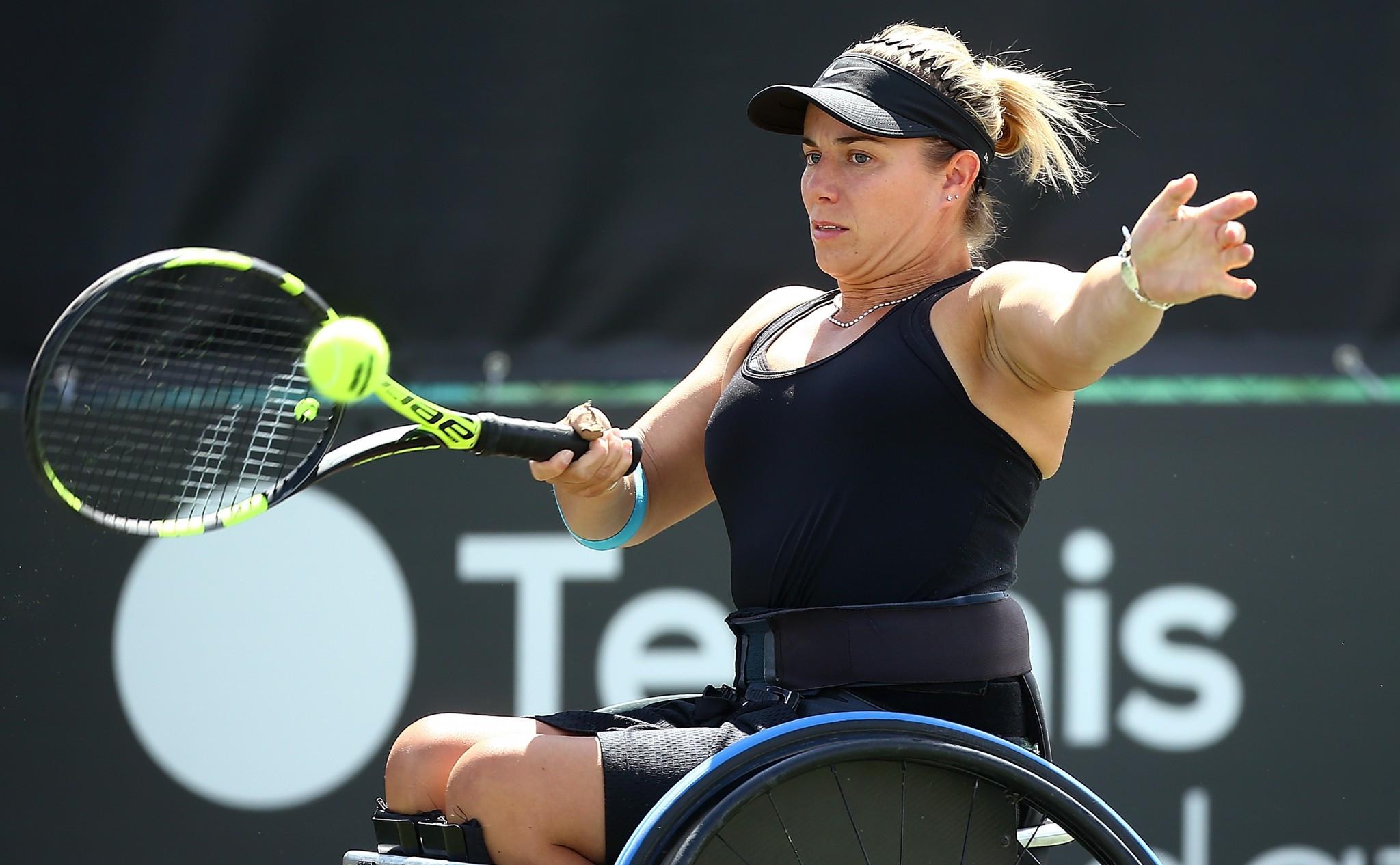 Shuker survives fightback in British Open Wheelchair Tennis Championships