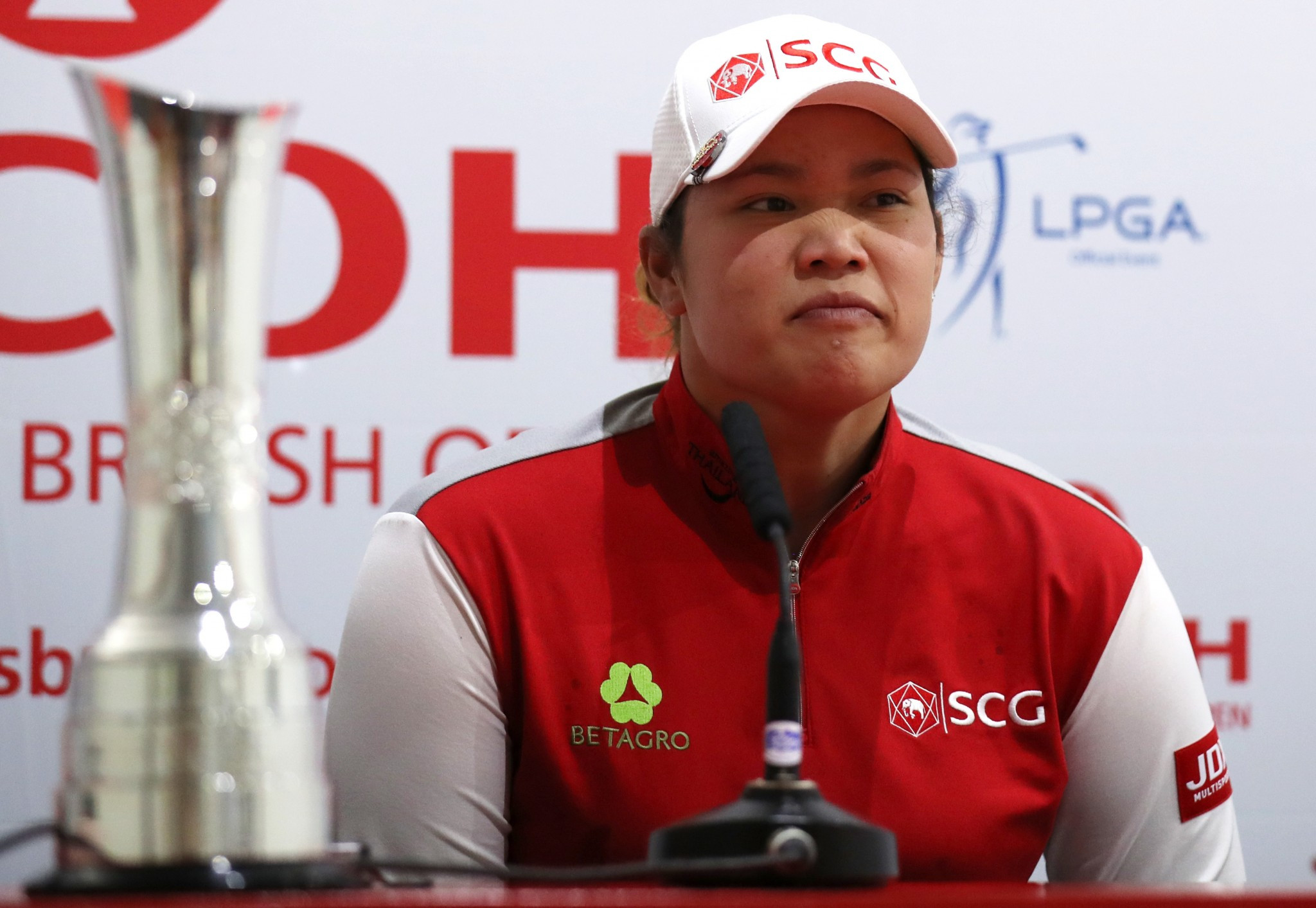Jatanugarn to defend Women's British Open title despite being sick