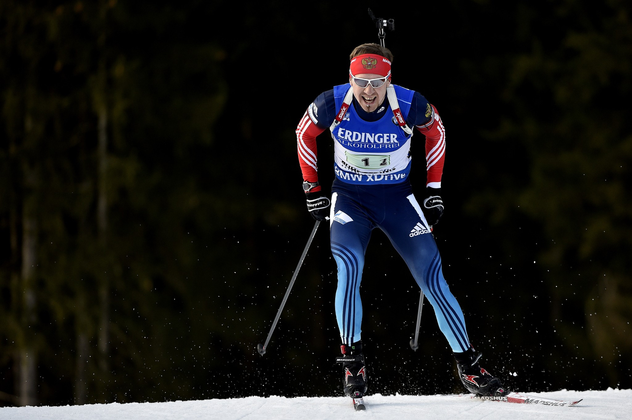 Timofey Lapshin is among several Russian biathletes given South Korean passports for Pyeongchang 2018 ©Getty Images