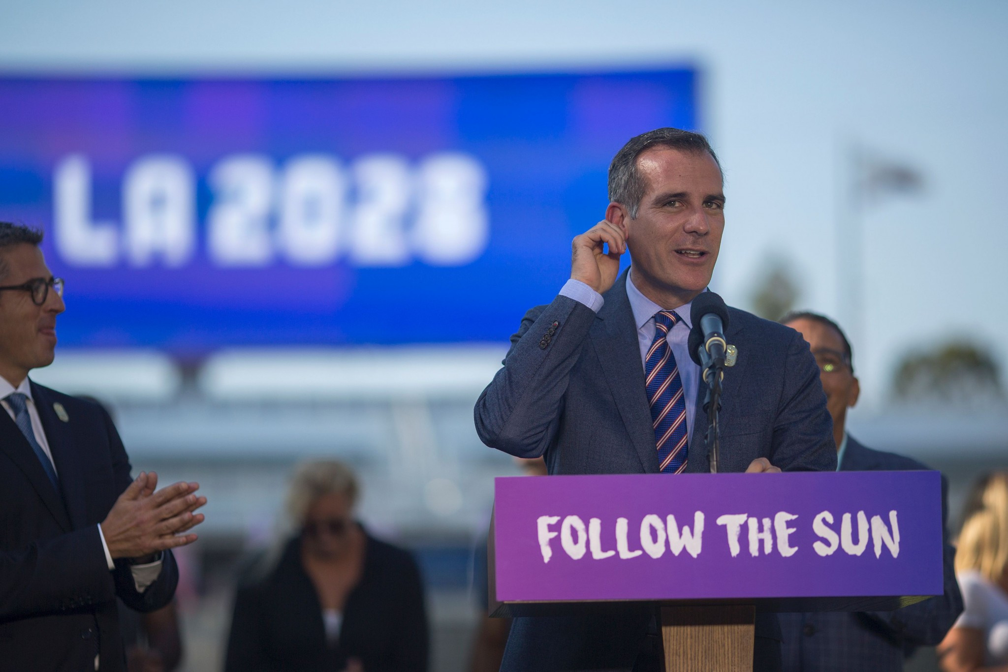 Public poll says Los Angeles 2028 has 83 per cent support