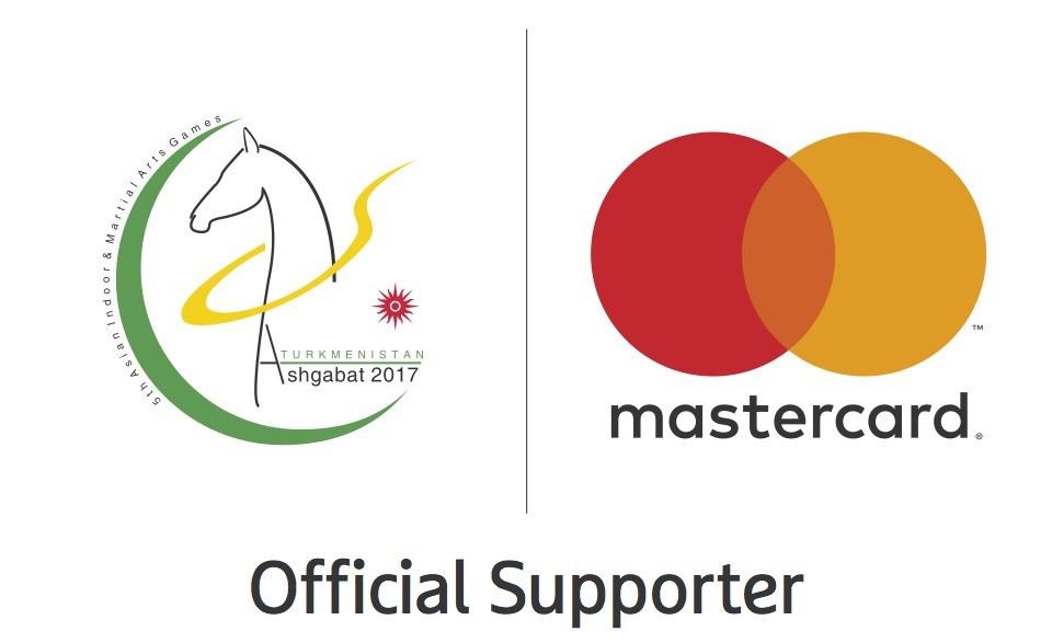 Ashgabat 2017 agree sponsorship deal with Mastercard