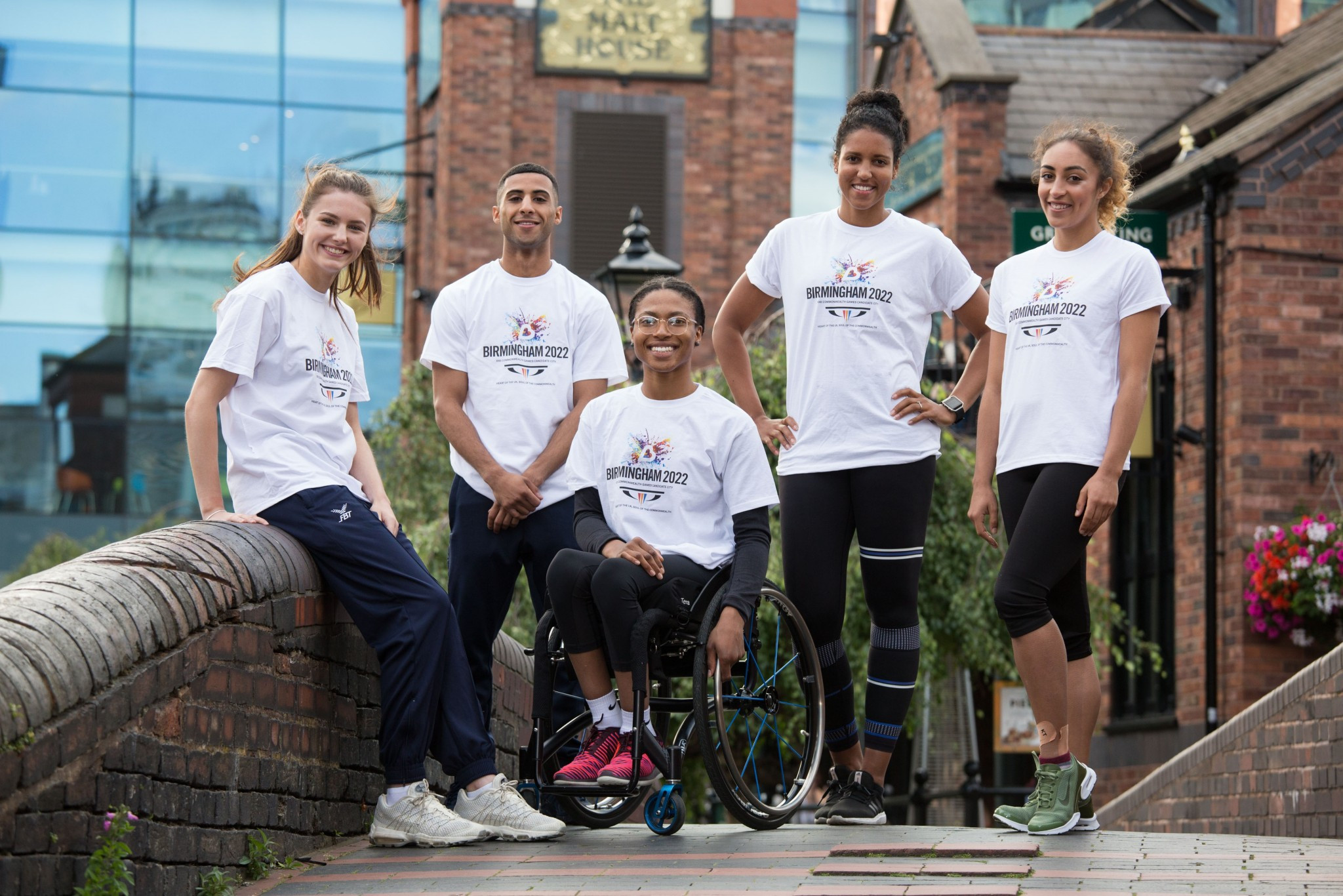 Midlands athletes promote Birmingham bid for 2022 Commonwealth Games
