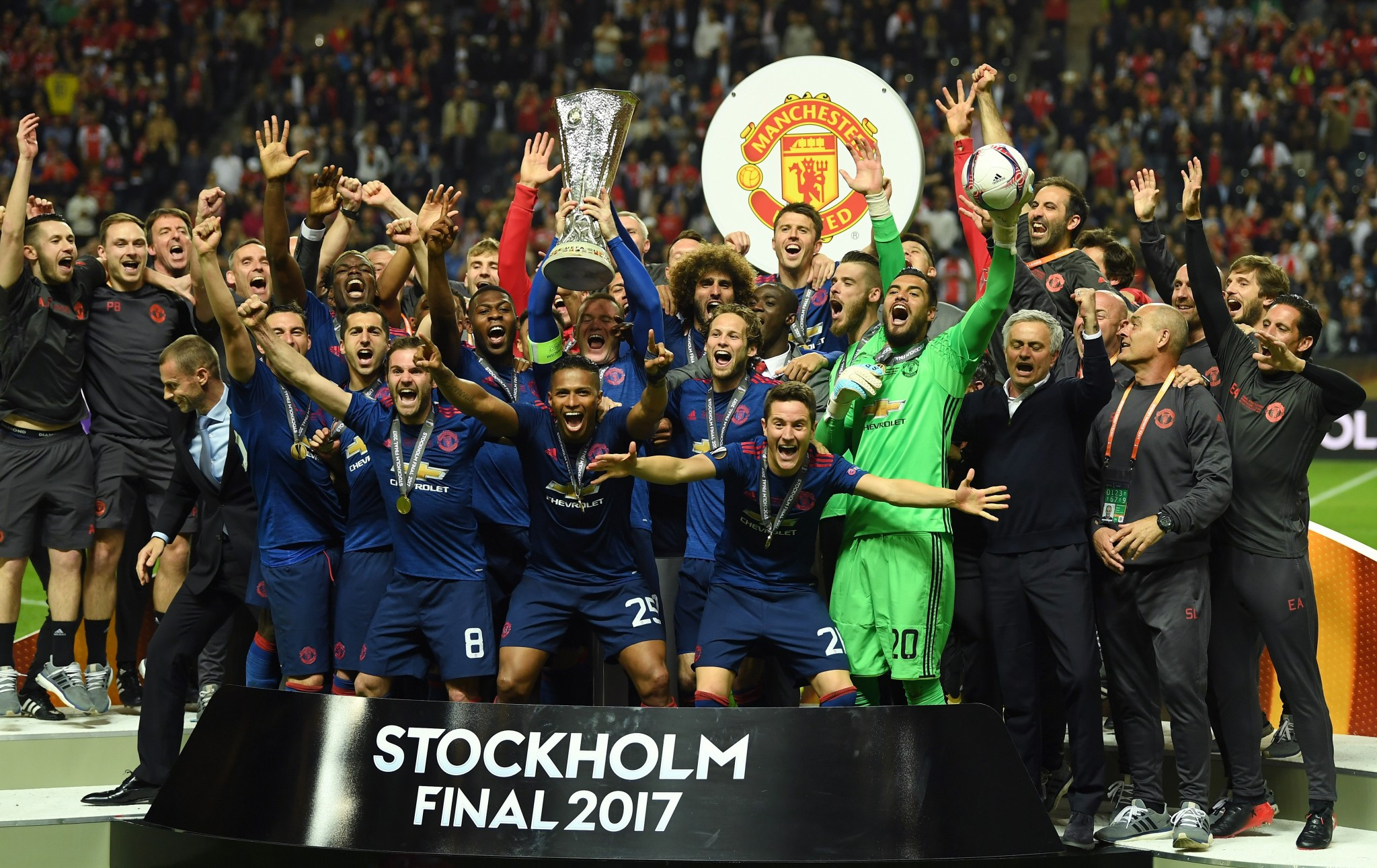 Manchester United fined over Europa League final drug testing row
