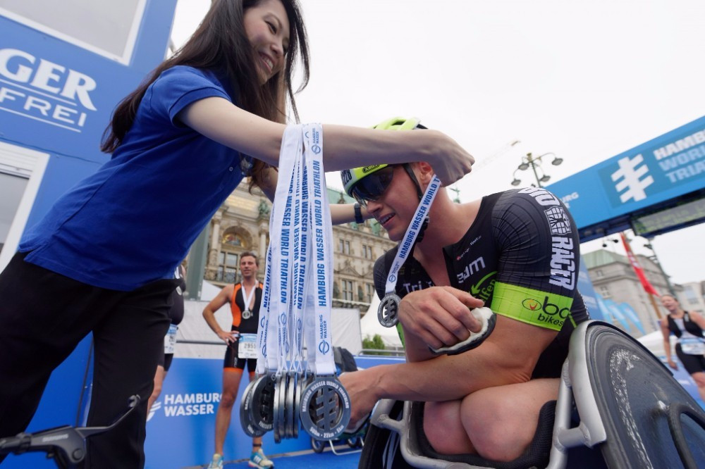 The ITU are hopeful of holding paratriathlon competitions worldwide ©Getty Images