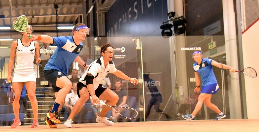 Top mixed doubles seeds suffer surprise defeat at WSF World Doubles Championships