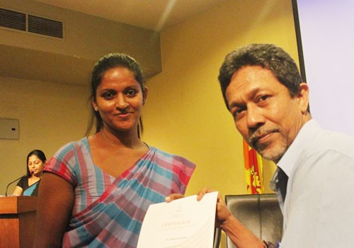 National Olympic Committee of Sri Lanka hold sports administrators course