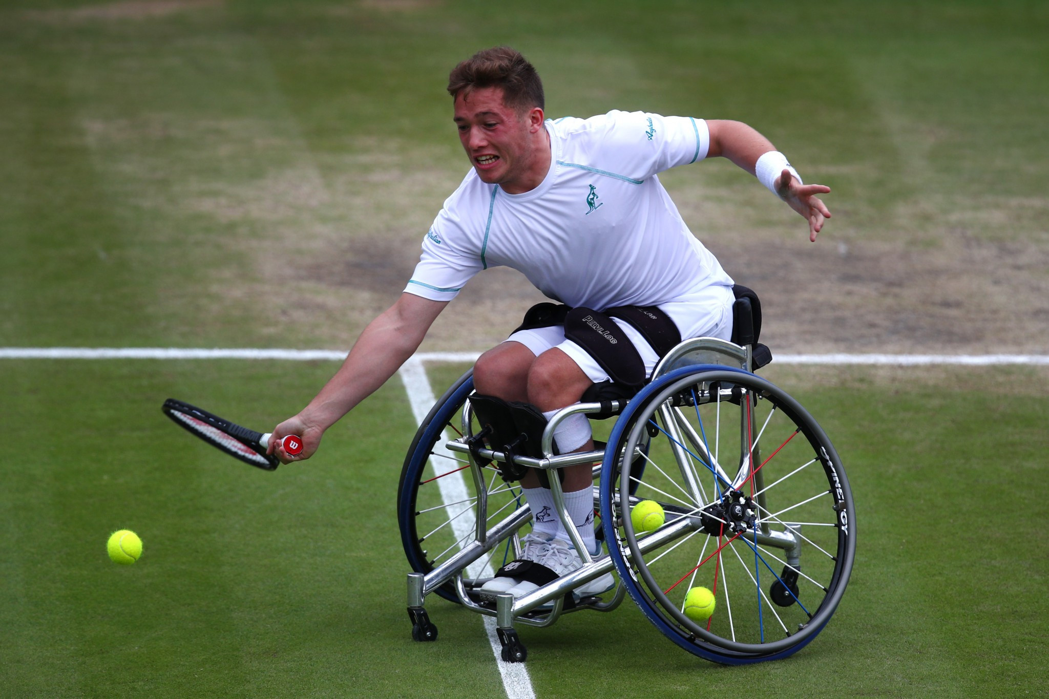 Hewett progresses to British Open Wheelchair Tennis Championships quarter-finals