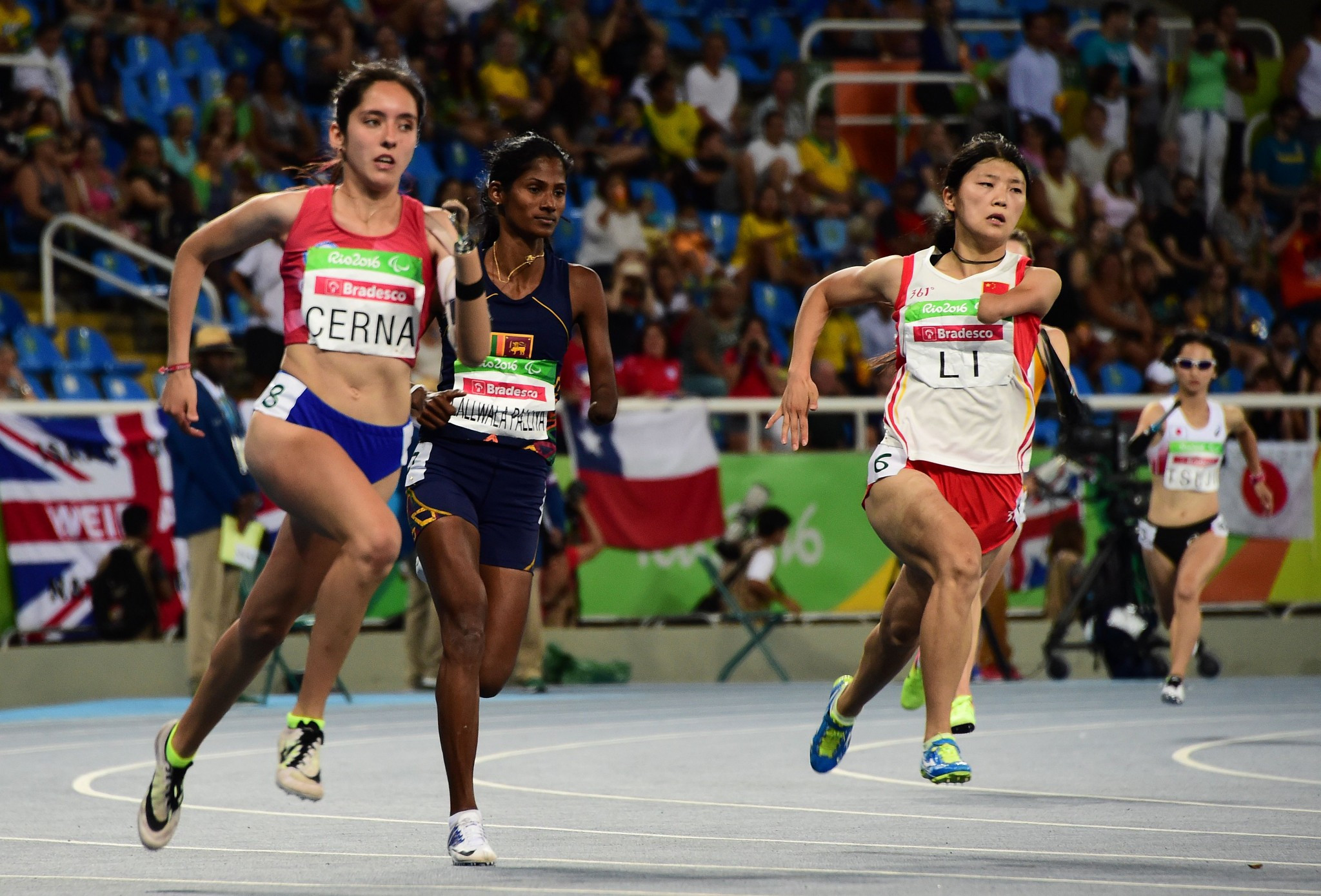 T47 sprinter Amanda Cerna of Chile is also set to compete in Nottwil ©Getty Images