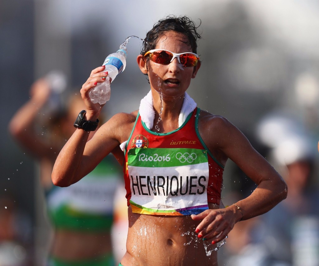 Inês Henriques of Portugal is the fastest entry in the women's 50km walk at the IAAF World Championships ©Getty Images