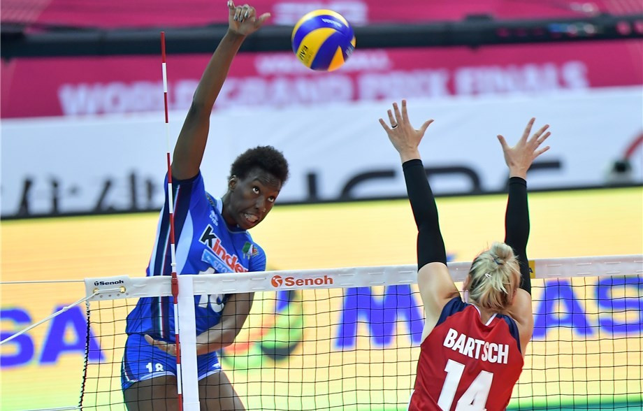 Egonu on fire for Italy at FIVB World Grand Prix Group One Finals