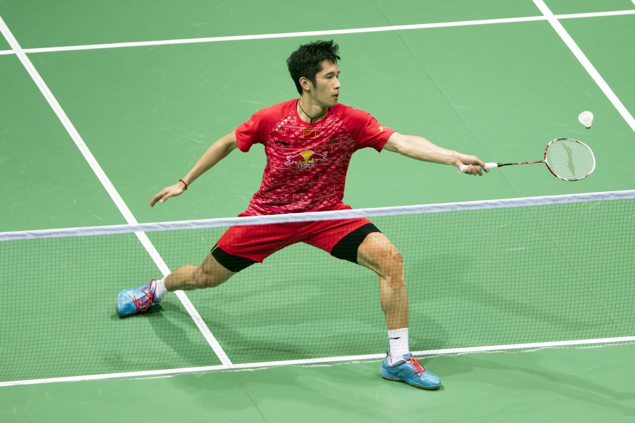 Wang marches on at BWF New Zealand Open