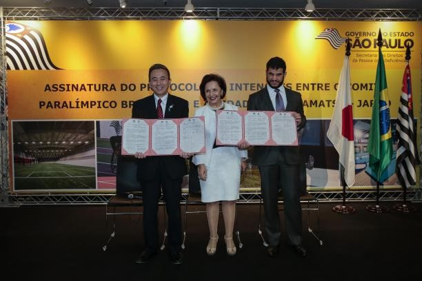 The Brazilian Paralympic Committee has chosen the Japanese city of Hamamatsu as the training base for its athletes at the Tokyo 2020 Paralympic Games ©NPC Brazil