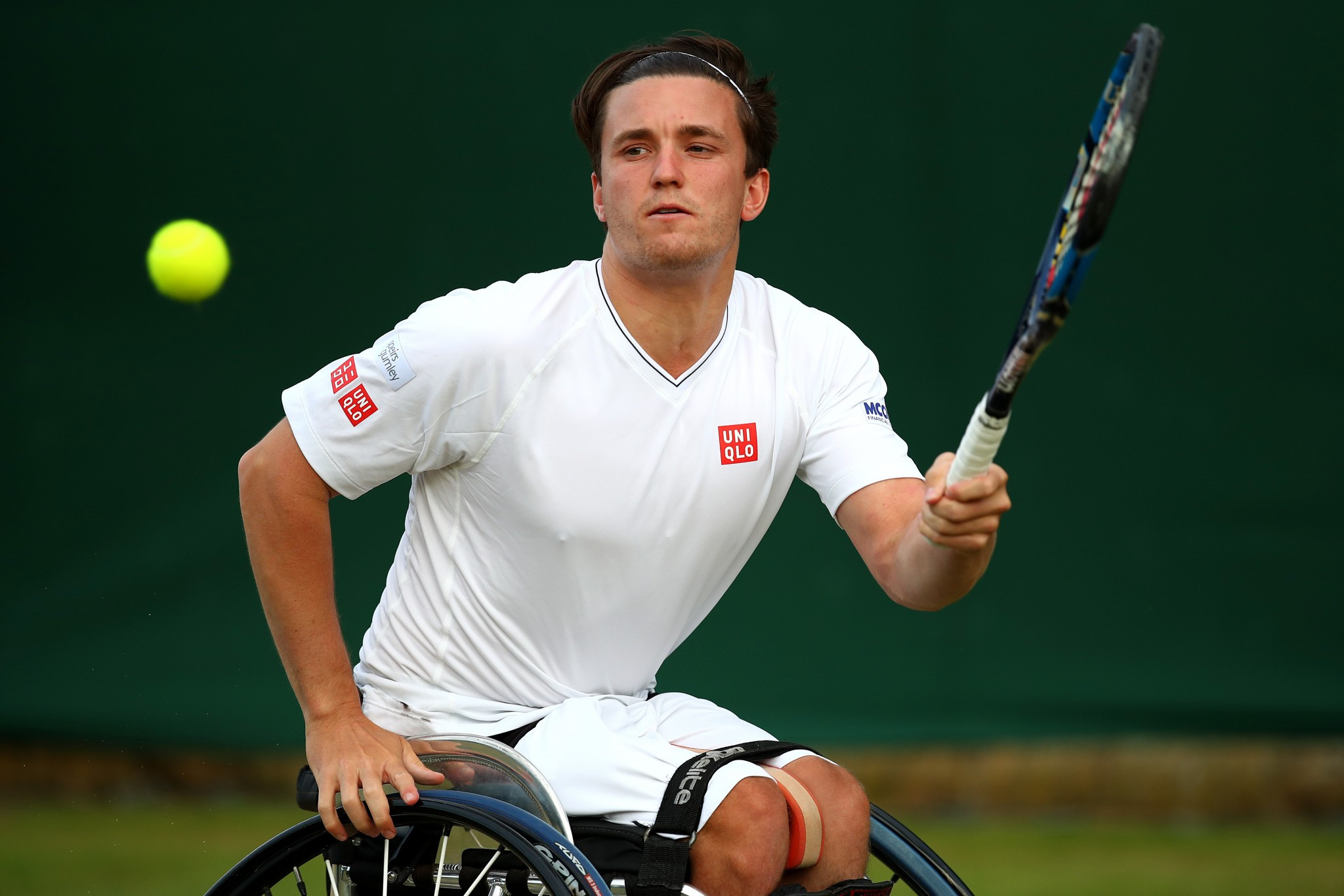 Top four seeds reach British Open Wheelchair Tennis Championships semi-finals
