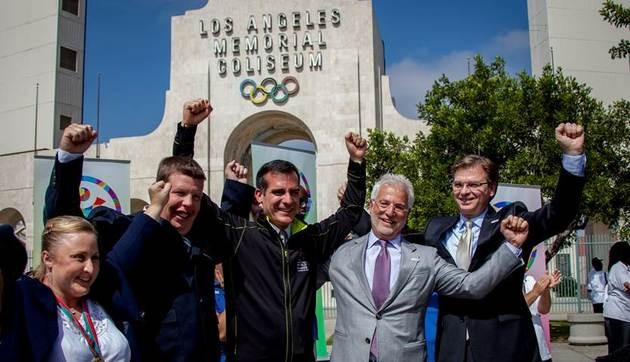 USOC open discussions with Los Angeles over bid for 2024 Olympics and Paralympics