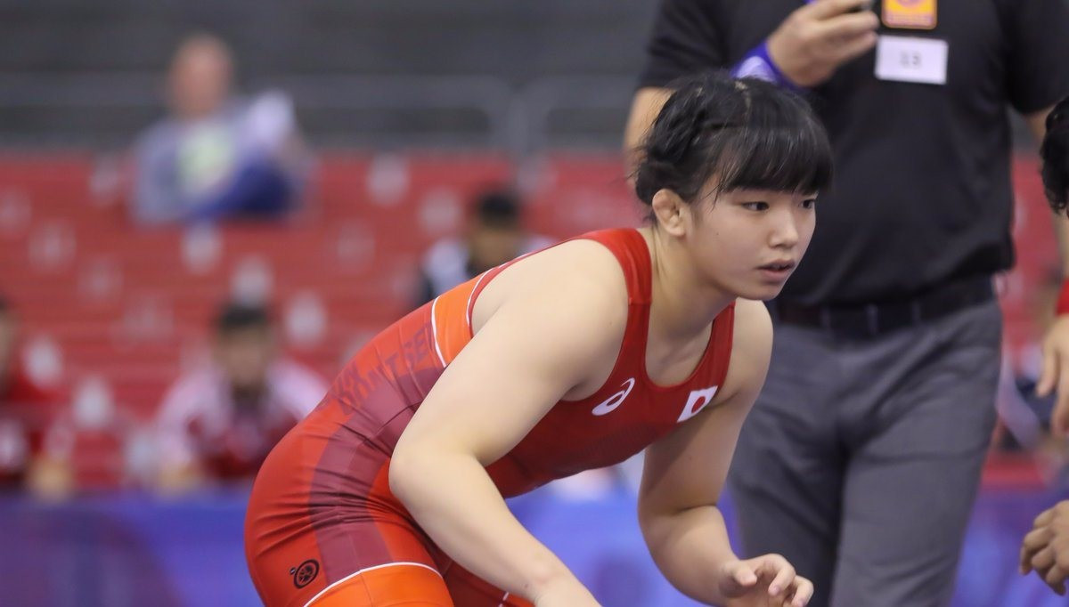 Japan and Russia share spoils on first day of women's wrestling finals at UWW World Junior Championships