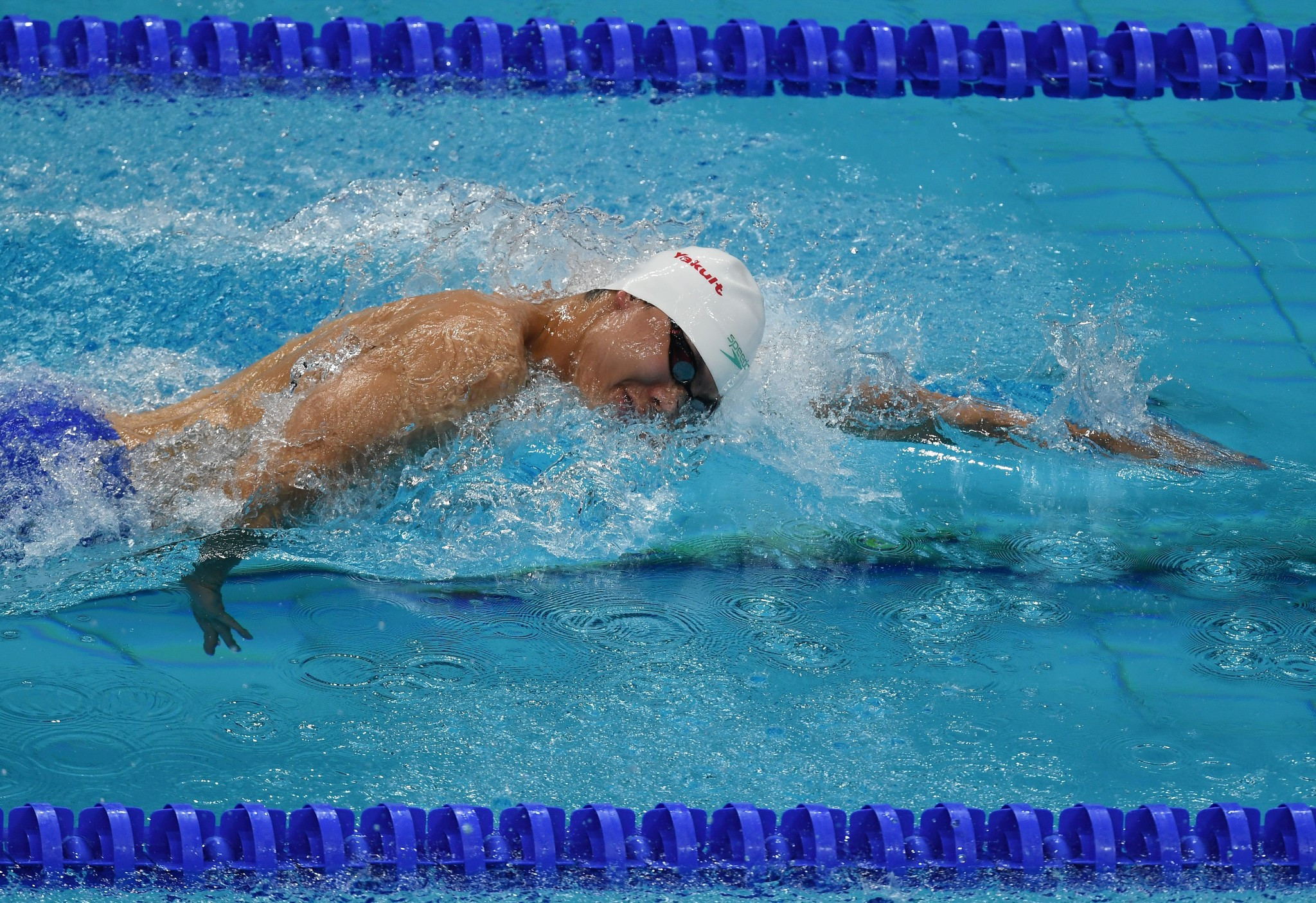 Russia's Vladimir Morozov won three gold medals today ©Getty Images