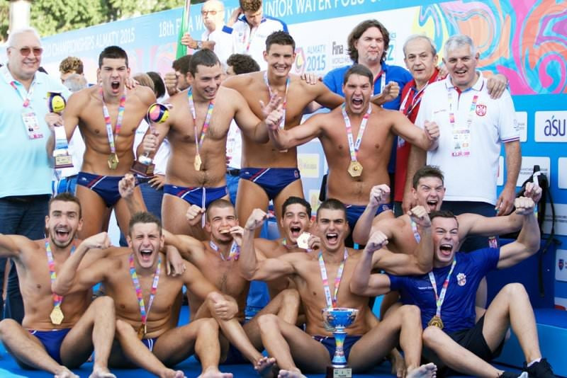 Hosts Serbia prepare for defence of World Men's Junior Water Polo Championships title