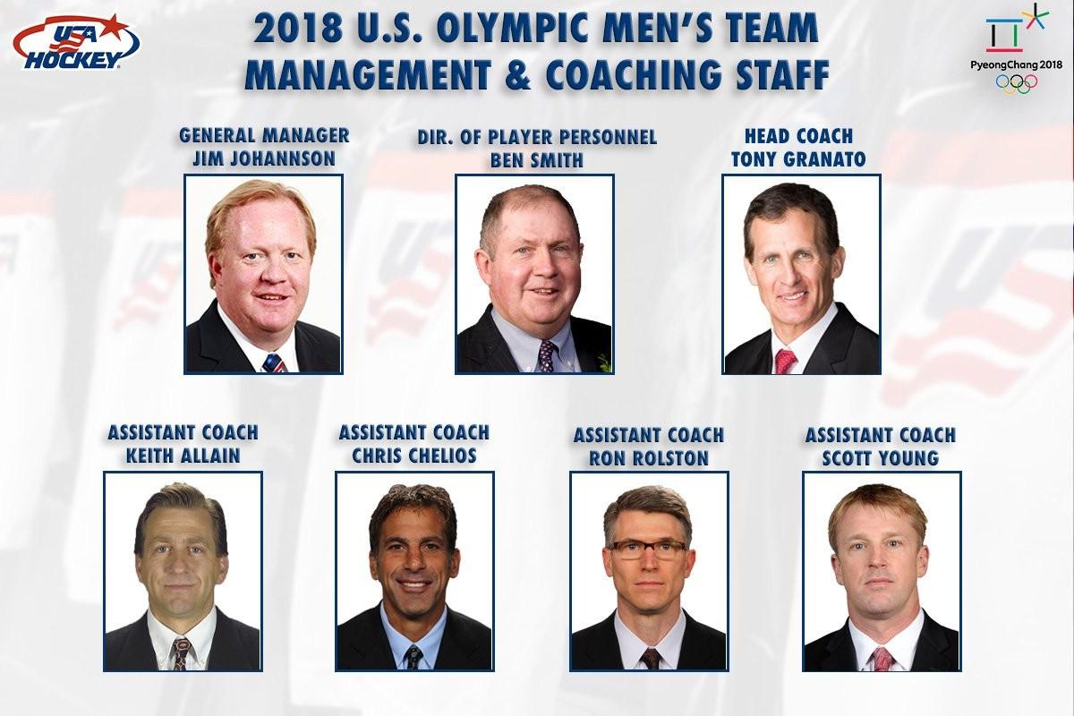 USA Hockey names Granato as head coach for Pyeongchang 2018