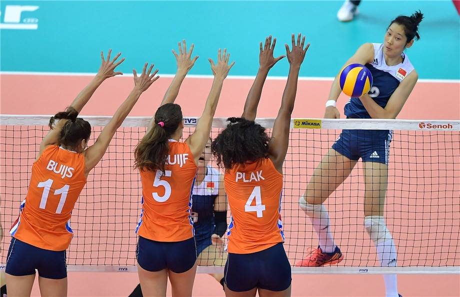 China knock Dutch out of FIVB World Grand Prix Group One Finals