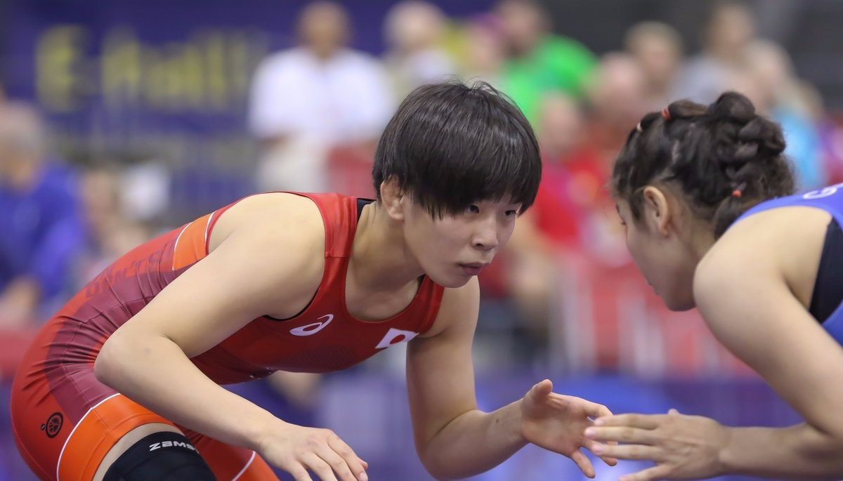 Japan claim another two women's wrestling gold medals at UWW World Junior Championships