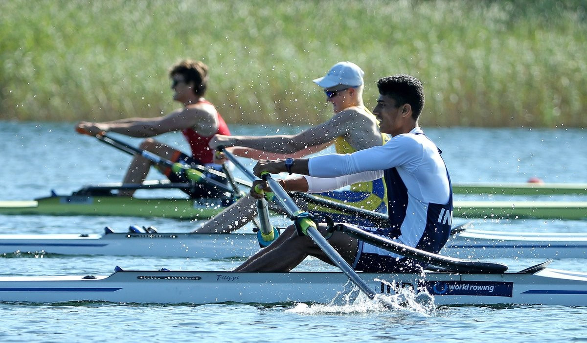 German Wolff fastest single sculler at World Junior Rowing Championships
