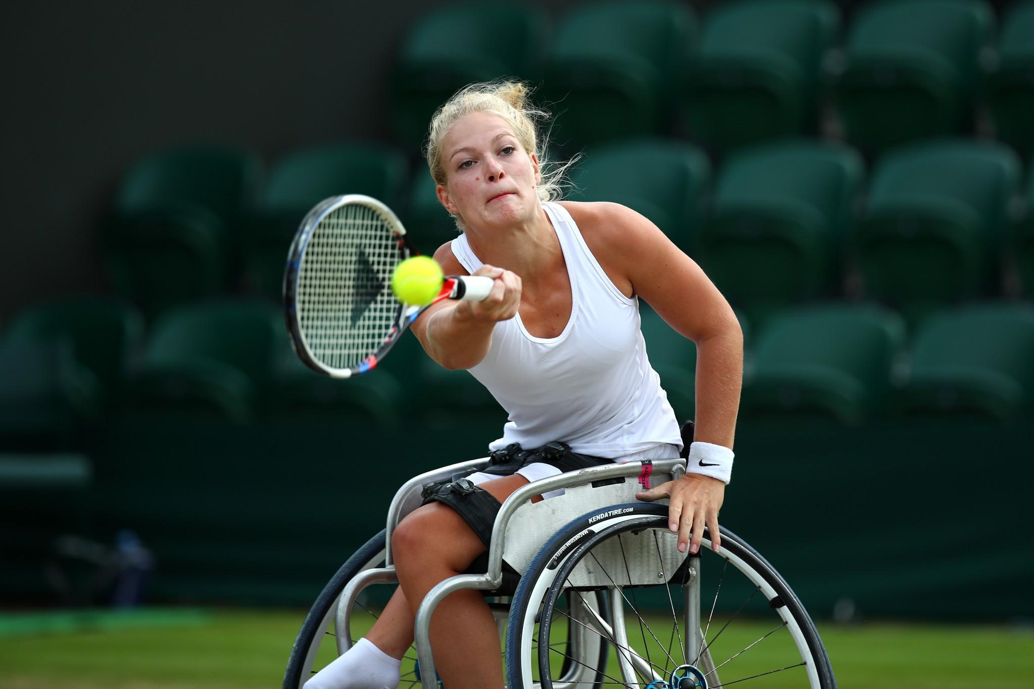 De Groot and Kamiji reach British Open Wheelchair Tennis Championships final