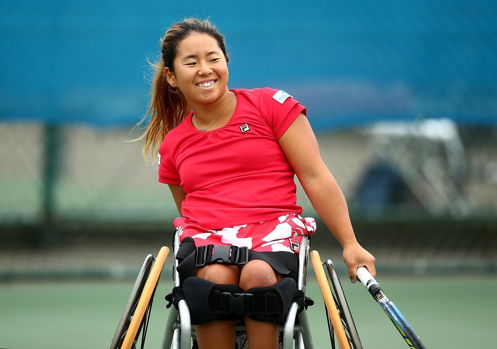 Japan's Yui Kamiji has also made the final in Nottingham ©Getty Images