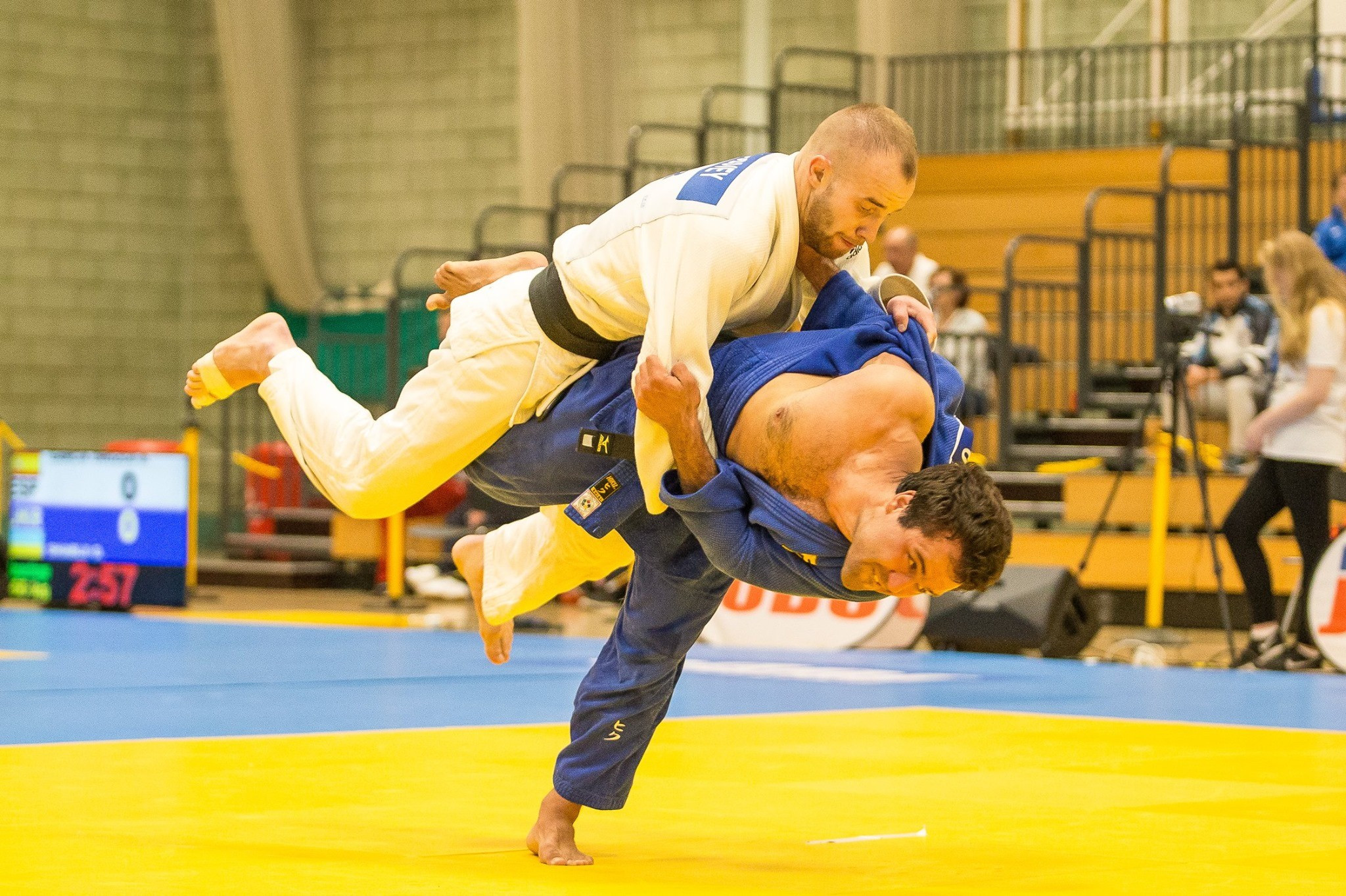 Today was the first of three days of competition ©British Judo Association/Facebook