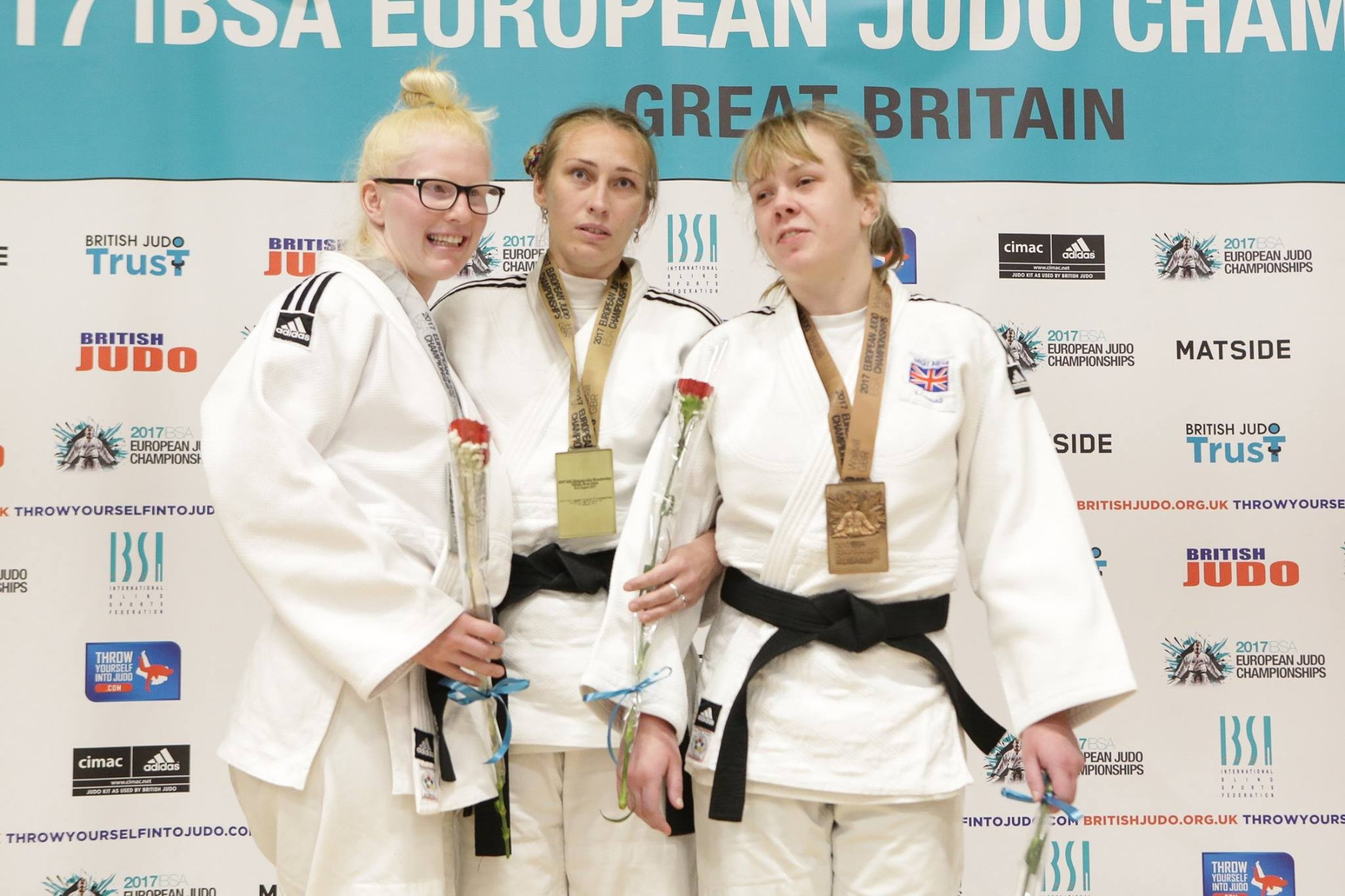 Russia win three gold medals on opening day of IBSA European Judo Championships