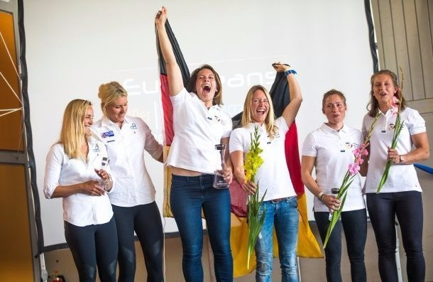 Sailors Lutz and Beuke win European Championship gold for first time